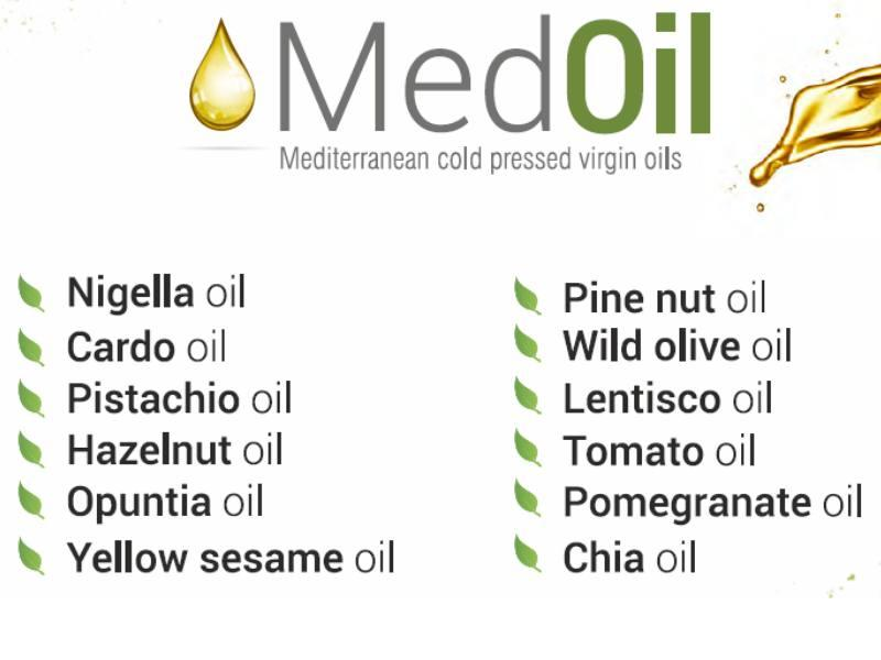 Mediterranean cold pressed virgin oils  - MedOil