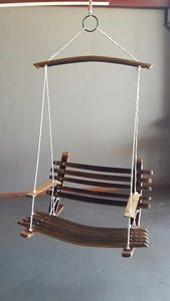 Barrel Swing Chair -