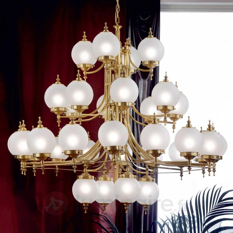 Lustre OBJEKT à 32 lampes - Lustres classiques,antiques