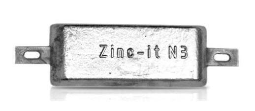 Ânodo de zinco para protecção catódica -
