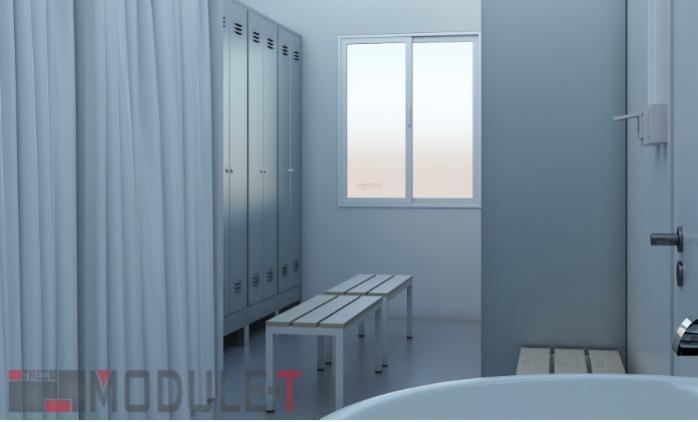 Prefabricated Locker Container - MODULAR CONTAINER
