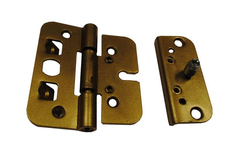 Anti-burglary hinge, regulated 2D[ZR 95x110 2D] - Furniture and hinges