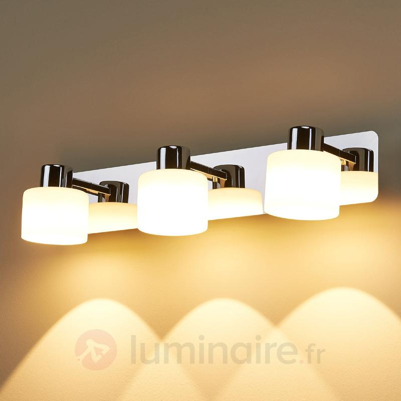 Applique LED Emira à trois lampes - Appliques LED