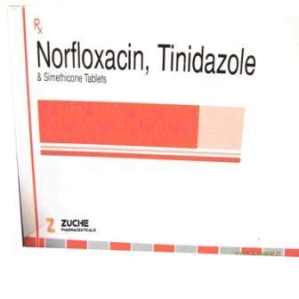 Norfloxacin Tinidazole Simethicone Tablets - Norfloxacin Tinidazole Simethicone Tablets