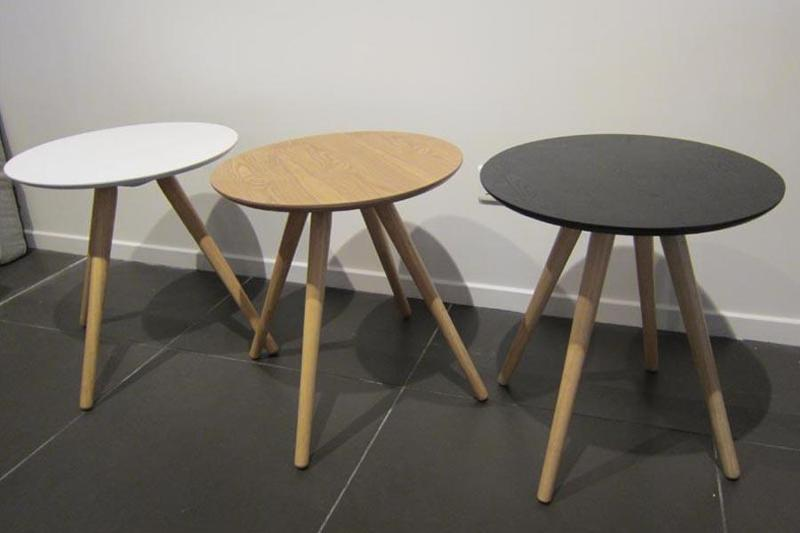 Table basse scandinave 99 mini sienne for 99 normal table