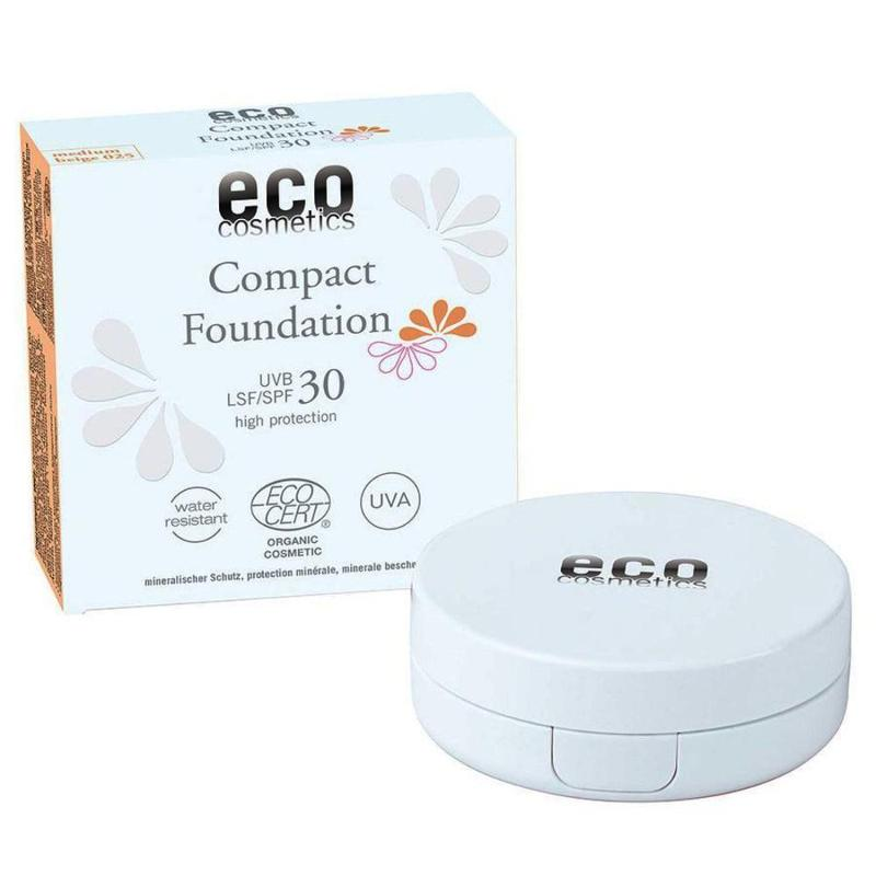 ECO Compact Foundation LSF 30 - 025 Medium Beige 10g - null
