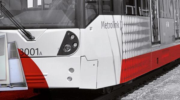 Spoiler Panels (fiberglass) - Spoiler for the M5000 tram in Manchester