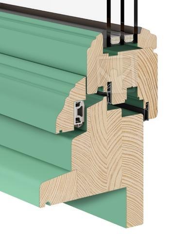 Wooden Windows |  Renovo - Turn & Tilt - Renovo Eco Wooden Window
