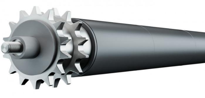 Conical Rollers - For the construction of curved elements within a conveyor system.