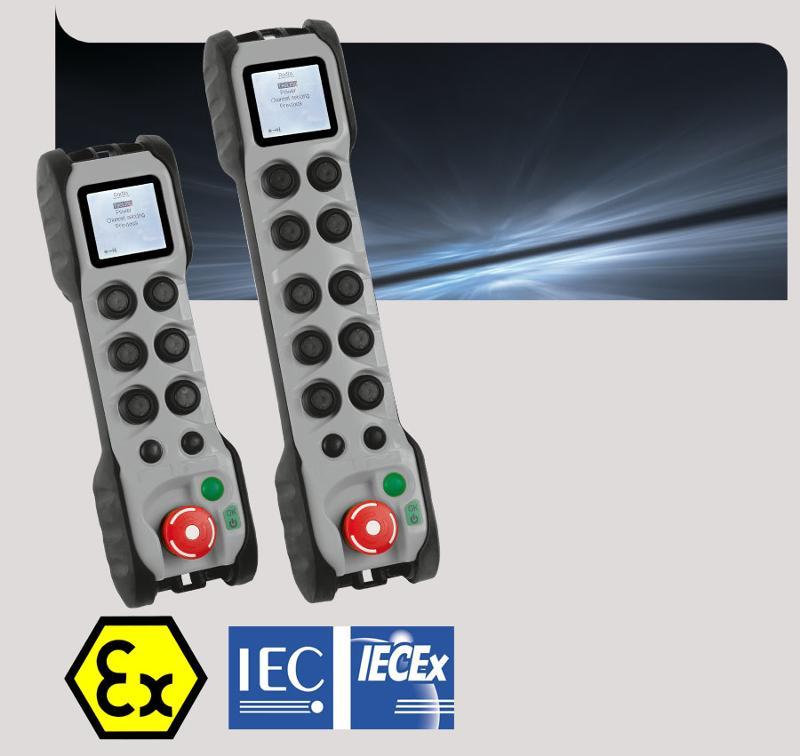 Radiocommande de sécurité ATEX IECEx - Gama