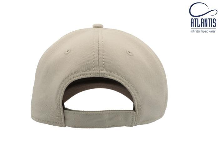 Cappello con visiera e tessuto a nido d'ape. - Cappello con tessuto a nido d'ape, visiera precurvata, regolabile con velcro