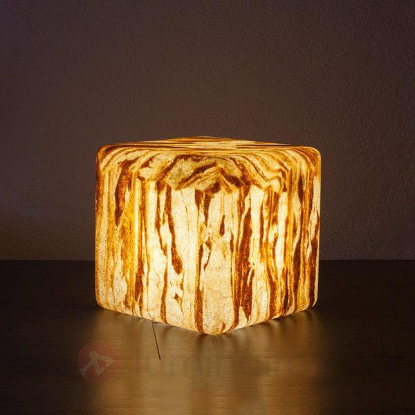 Cube Sahara avec câble en caoutchouc - Lampes décoratives d'extérieur