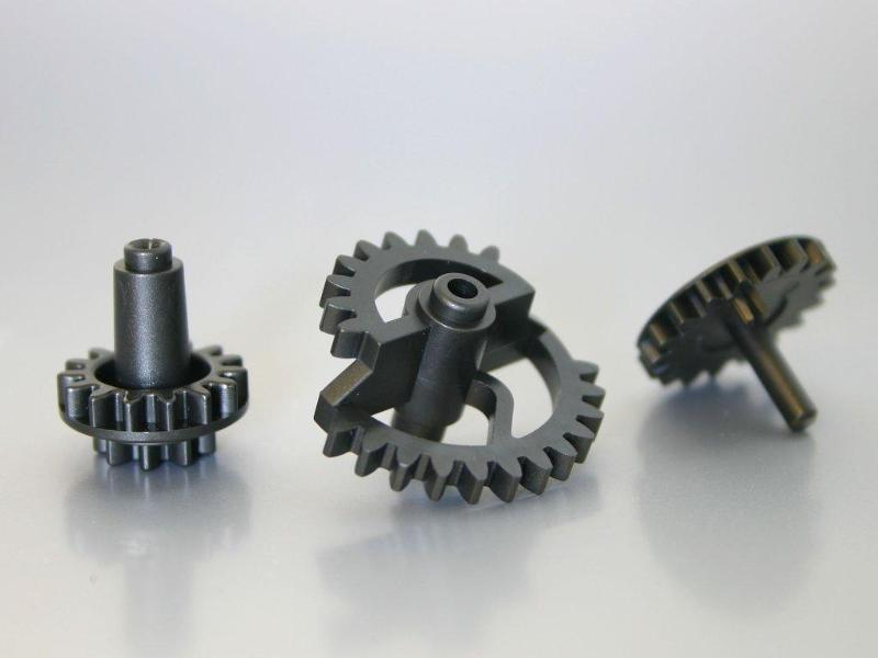 Plastic parts for ventilation systems - Cogged wheels made of Hostaform