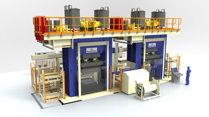 Large Press For Smc - null