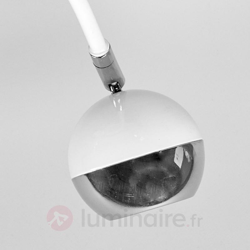 Plafonnier LED Arvin élégant en blanc - Plafonniers LED