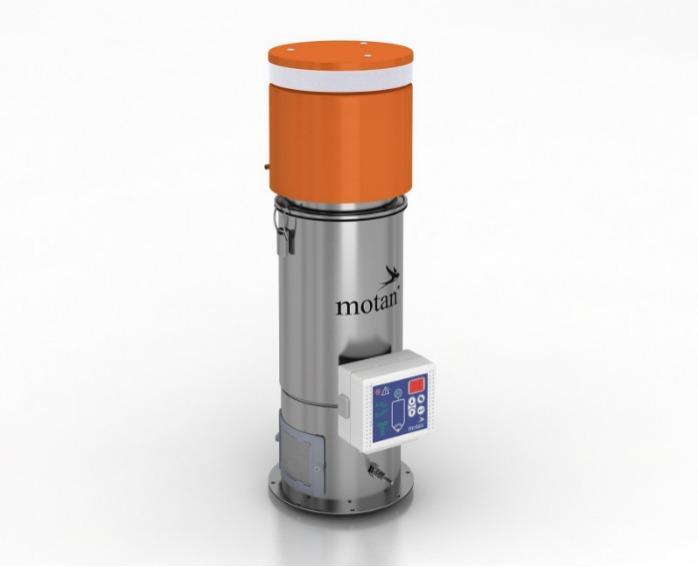 Trasportatori monofase per granuli di plastica- METRO SG HES - Trasporto di granulato in tramogge, tramogge di essiccazione o stoccaggio