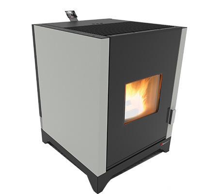 Mila 7&10 Kw Hot Air Wood Pellet Stove - Indoor Wood Pellet Stove