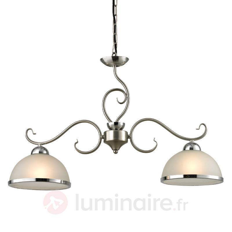 Classik - Suspension LED à 2 lampes - Cuisine et salle à manger