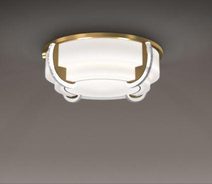Luxurious art deco ceiling light - Model 727
