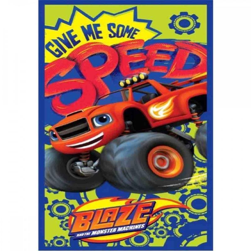 6x Serviettes de plage Blaze Wheels 70x140 - Serviette