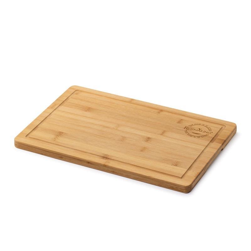 Deska za rezanje iz bambusa - Večja deska za rezanje najrazličnejše hrane.