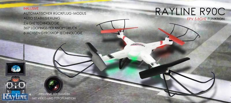 RC Ware anderer Hersteller RC Quadrocopter - R90FPV