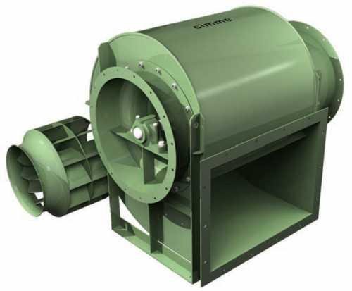 Gfw - Ventilateur Basse Pression Type Gfw - Transmission Poulie Courroie - null