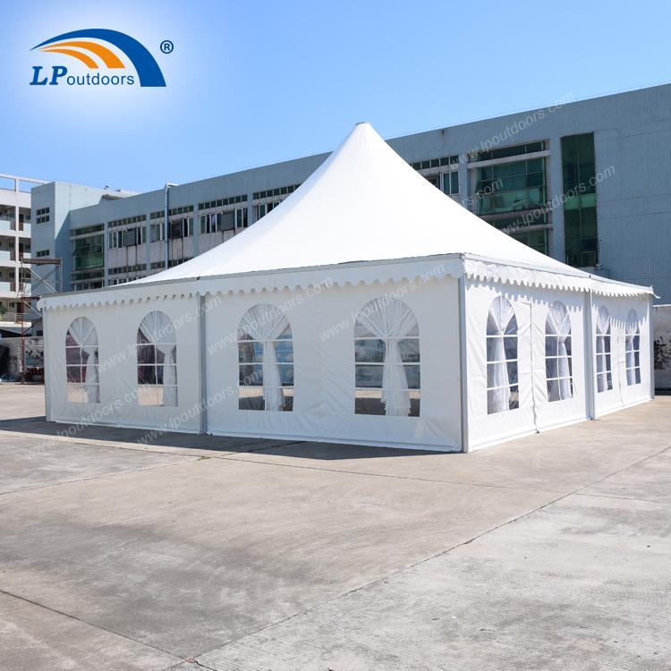 Tente de pagode personnalisée de 10 x 10 m à l'extérieur pou - Tente de mariage 10x10m de LP OUTDOORS