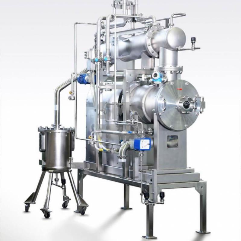 Hyvap - 卧式薄膜蒸发器 - 卧式薄膜蒸发器Hyvap 在衛生設計