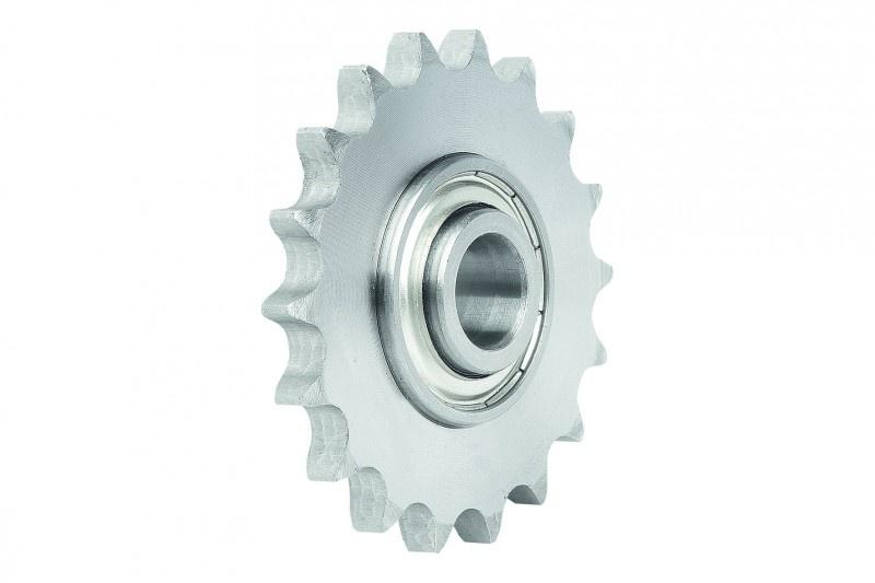 Idler sprockets with ball bearing - Ready-to-install idler sprockets complete with ball bearing.