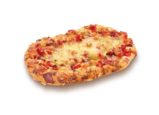 Salami and Ham Pizza - Snacks