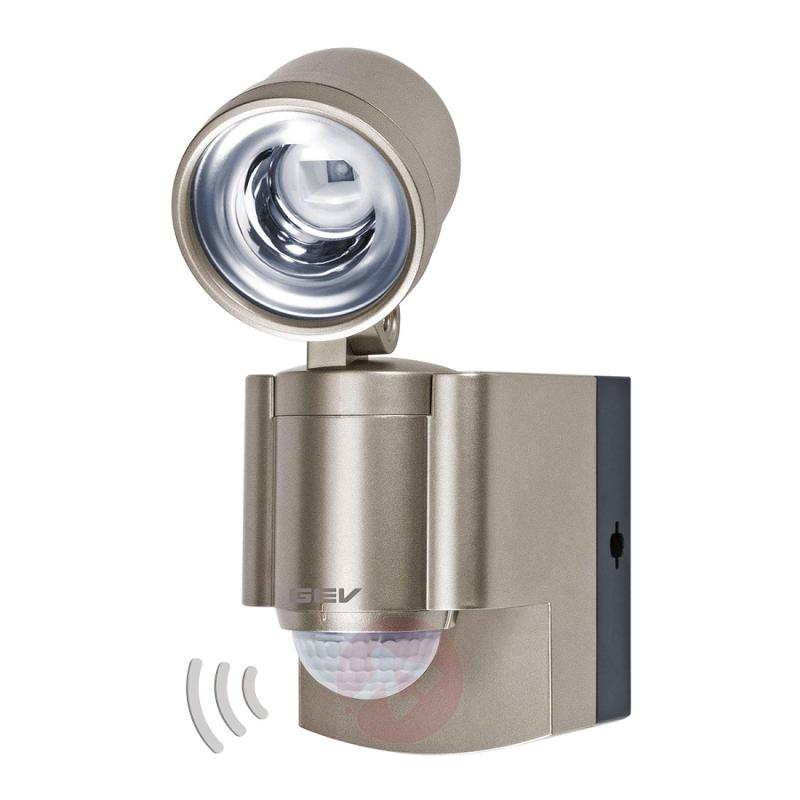 LLL 140 battery-powered LED spotlight with MD - outdoor-led-lights