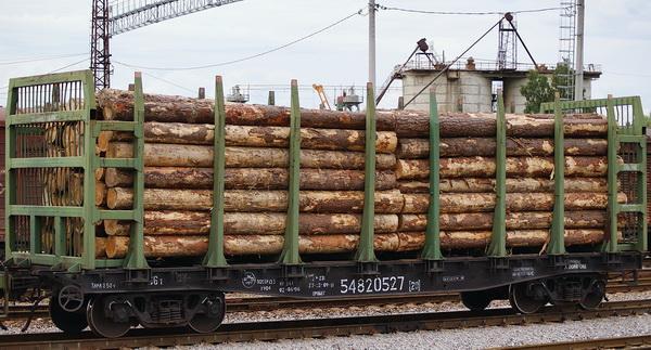 Аренда Ж/Д платформ для перевозки леса - + Вагоны-щеповозы