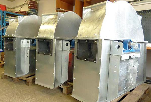 Industrieventilatoren -