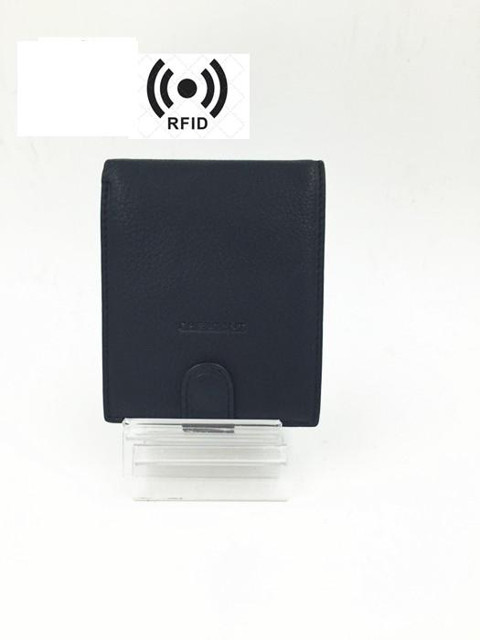 1348 Men's Leather RFID Wallet - Men's Leather RFID Wallet