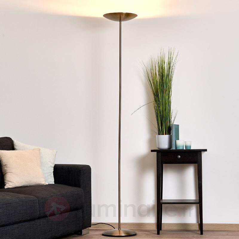 Elégant lampadaire Illy bronze - Lampadaires à éclairage indirect
