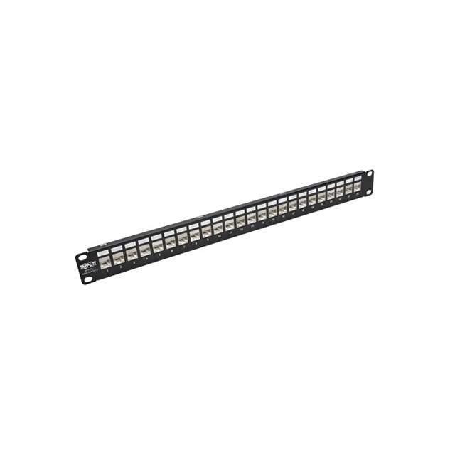 24-PORT 1U RACK-MOUNT PATCH PANE - Tripp Lite N254-024-SH-D