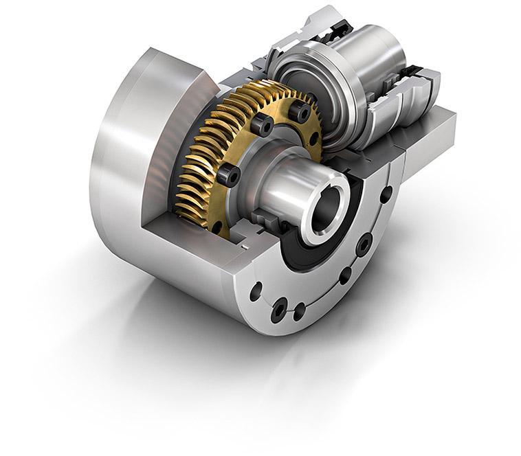TorusGear - Planar Spiral Gearbox