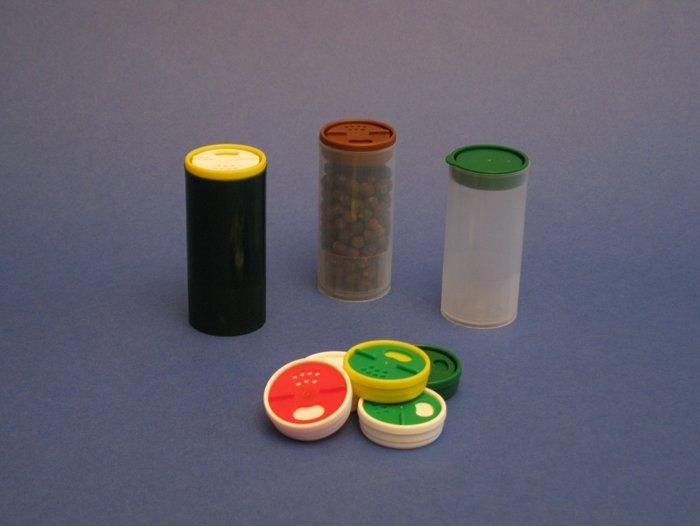 dispenser cilindrici di polipropilene - Dispenser