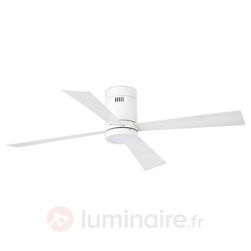 Ventilateur de plafond quatre hélices & LED Timor - Ventilateurs de plafond modernes