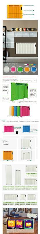 Anze metal film heater /aluminium I - Anze Radiators Series