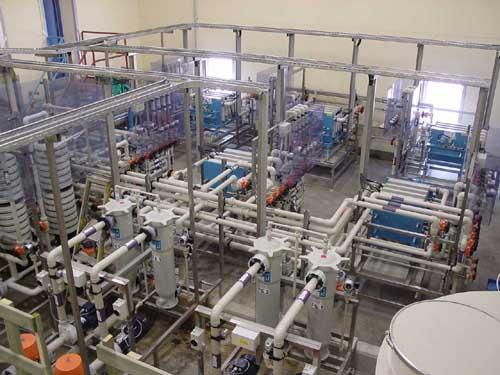 Recovery of acids and acidic rinse waters - surface-technology