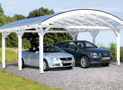 Carport - Arc double