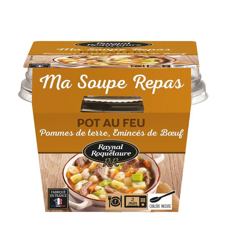 RAYNAL ET ROQUELAURE - Ma soupe repas POTEE A... - Epicerie salée