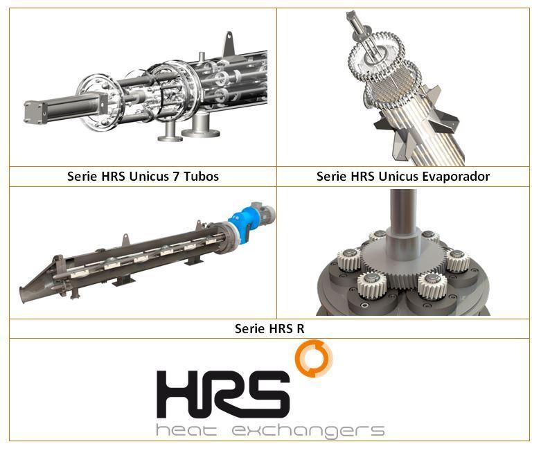 Intercambiadores de calor de superficie rascada - La solución para aplicaciones con problemas de ensuciamiento y alta viscosidad