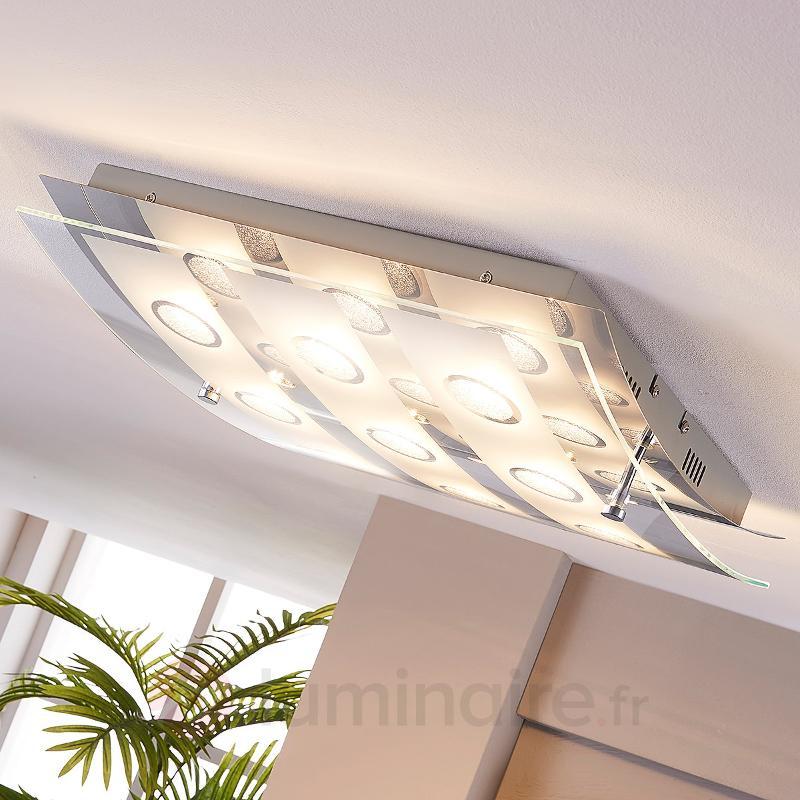 Plafonnier LED à 9 lampes Joicy - Plafonniers LED