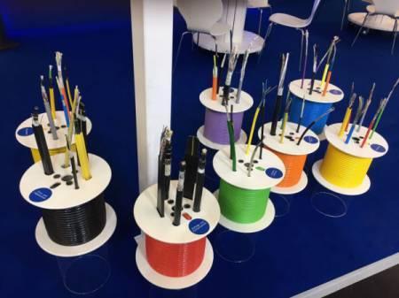 Kabel für Medienübertragung im Aufzugbau
