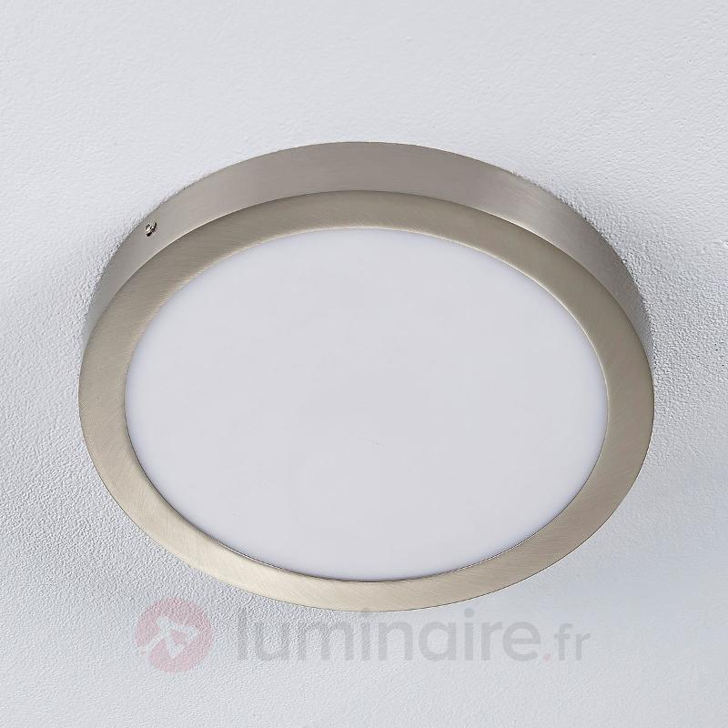 Milea - plafonnier LED de forme ronde - Plafonniers LED
