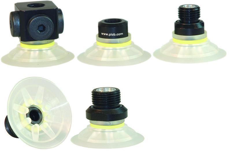 ventouses - F-MF -Plates Sans Trace (15–50 mm)