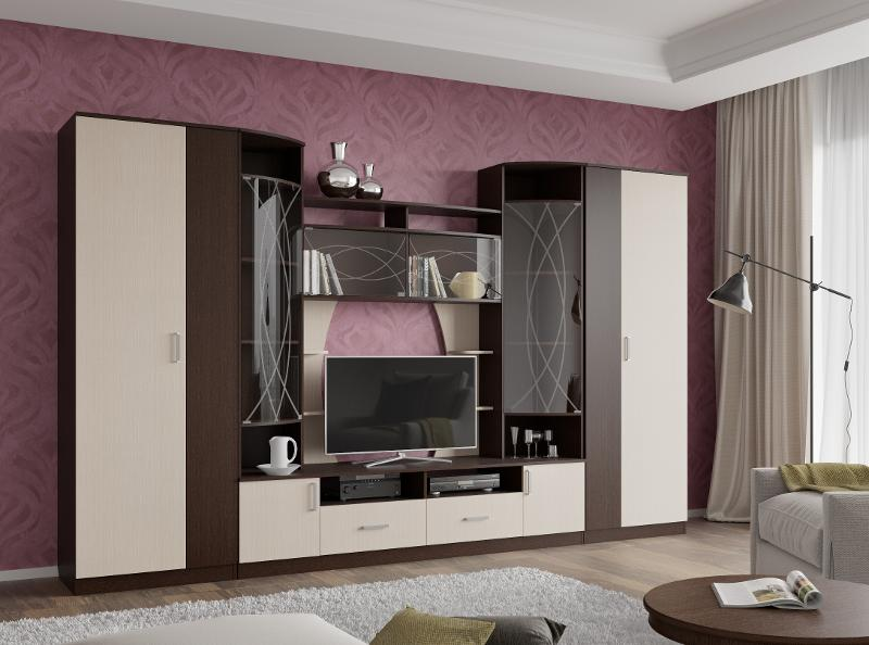 """Wall In The Living Room """"Loroza"""" - Living room furniture"""